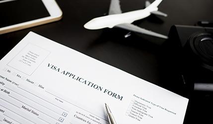 外国人の就労ビザ申請・取得イメージ